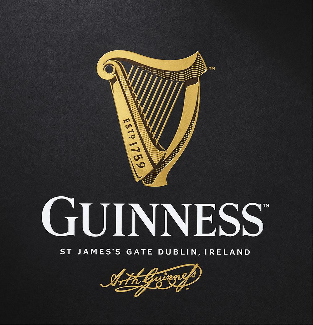 Guinness New logo - A-Kube agenzia di comunicazione palermo